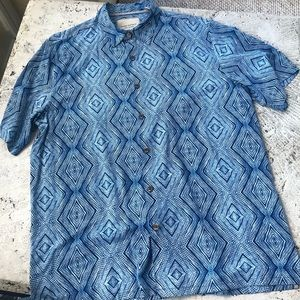 Island Republic Vintage Collection 100% silk Top